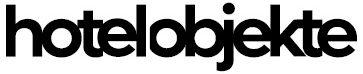 Das Logo von hotel objekte dem Fachmagazin der Hotelbranche