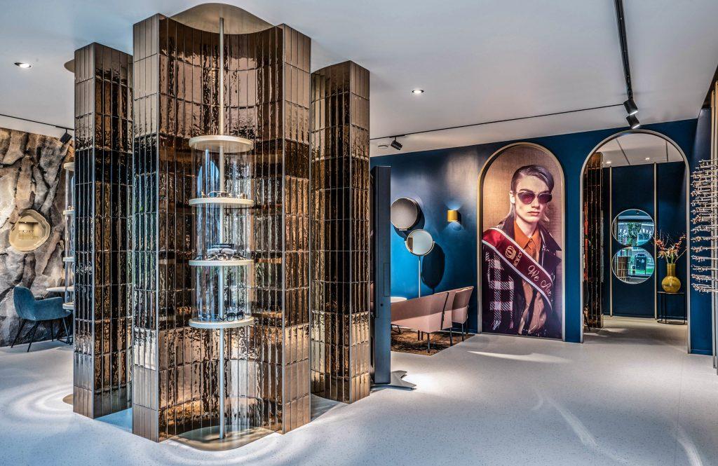Interior design of the optical store Panis Eyewear in Oisterwijk