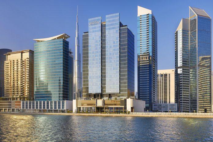 Marriott Hotel in Dubai Landscape